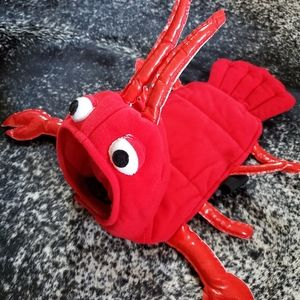 Red Lobster Dog Costume